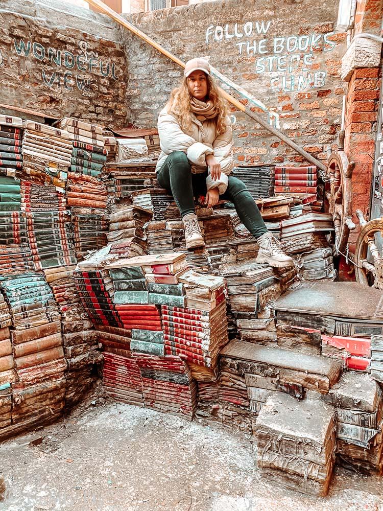 Venedig_Libreria_Qqua_Alta_Treppe