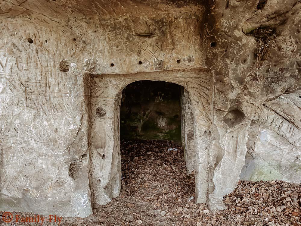 Höhlenwohnungen Harz Reise