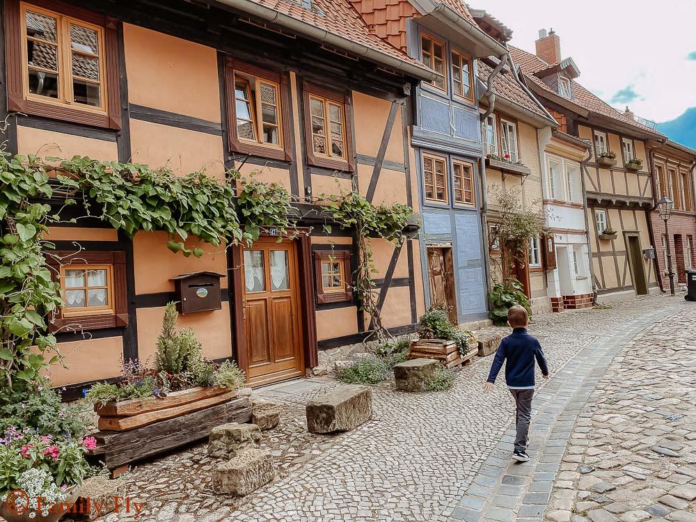 Quedlinburg Gassen